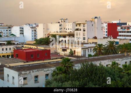 Das Leben auf der Straße. Kaiserliche Stadt Meknes, Marokko, Maghreb Nordafrika - Stockfoto