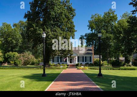 Die Startseite von Helen Keller an einem schönen Sommertag in Tuscumbia, Al. - Stockfoto