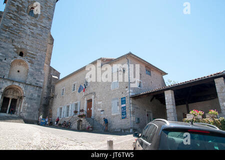 Frankreich, Pyrenäen, Saint-Bertrand de Comminges - Stockfoto