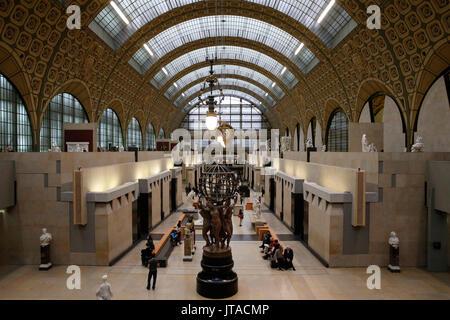 Orsay Museum (Musée d'Orsay), Paris, Frankreich, Europa - Stockfoto