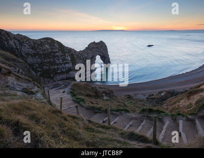 Durdle Door in Dorset. - Stockfoto