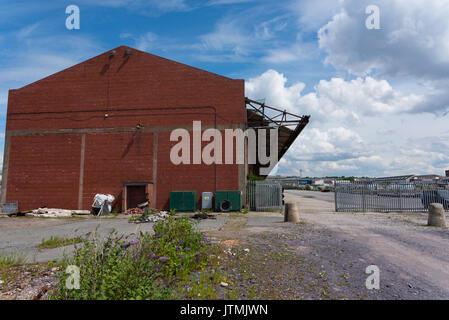 Bramley Moore Dock, Liverpool. Lage des neuen Everton FC-Stadion, die sich von ihren Goodison Park Lage.