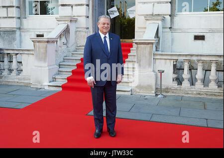 London, Großbritannien. 10 August, 2017. Al Gore nimmt in seinem Dokumentarfilm beginnt der Film 4 Sommer Film Festival. - Stockfoto