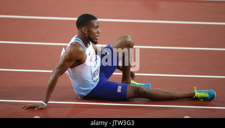 London, Großbritannien. 10 August, 2017. Nathanael Mitchell Blake 200 m Final Leichtathletik WM 2017 London Stam, - Stockfoto
