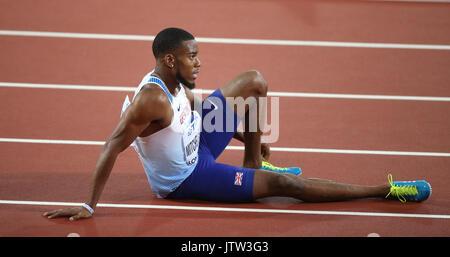 London, Großbritannien. 10 August, 2017. Nathanael Mitchell Blake 200 m Final Leichtathletik WM 2017 London Stam, - Stockfoto