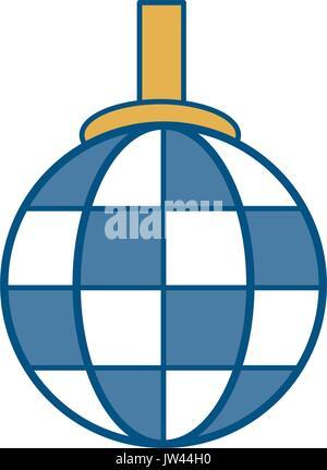 Disco Lampe-Symbol Vektor Abbildung - Bild: 159056023 - Alamy