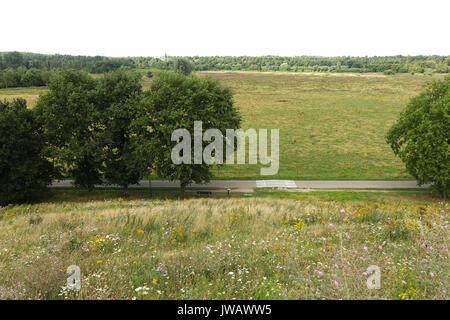 Dal van de Roode Beek, Feuchtgebiete, Wiesen, Nature Reserve in Teuge, Limburg, Niederlande. - Stockfoto