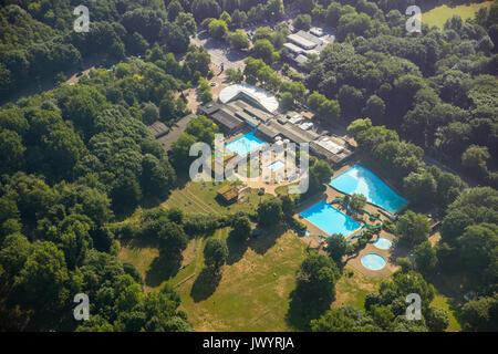 luftbild schwimmbad park revierpark nienhausen gelsenkirchen ruhrgebiet nordrhein westfalen. Black Bedroom Furniture Sets. Home Design Ideas