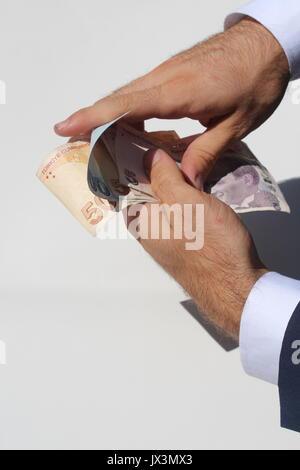 Business Mann hand - Stockfoto