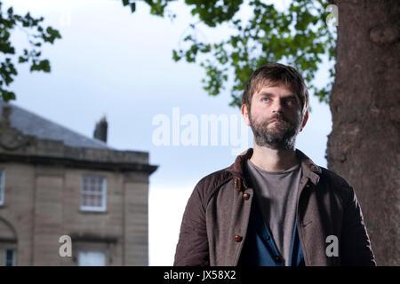 Edinburgh, Großbritannien. 14. August 2017. Martin MacInnes, der schottische Schriftsteller, beim Edinburgh International - Stockfoto