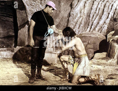 Notlandung im Weltraum aka. Robinson Crusoe auf dem Mars, USA 1964, Regie: Byron Haskin Darsteller: Paul Mantee, - Stockfoto