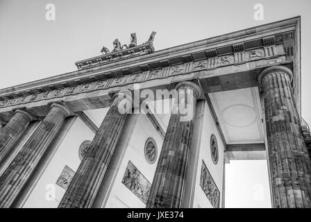 Brandenburger Tor in Berlin Brandenburger Tor genannt - Stockfoto