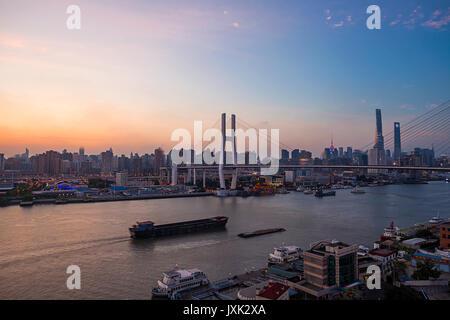Shanghai Urban Landscape - Stockfoto