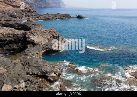 Punta de Teno, dem westlichsten Punkt der Insel Teneriffa auf den Kanarischen Inseln. - Stockfoto