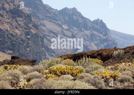 Punta de Teno, dem westlichsten Punkt auf Teneriffa auf den Kanarischen Inseln. - Stockfoto