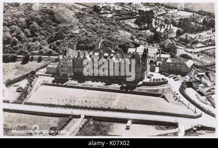 Craigside Hotel Hydro, Llandudno, North Wales. Datum: ca. 1950 s - Stockfoto