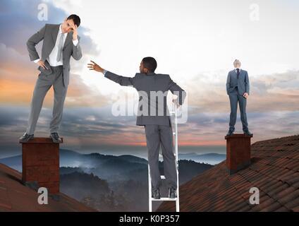 Kletterausrüstung Clipart : Abbildung eines mannes gekleidet in kletterausrüstung skalierung