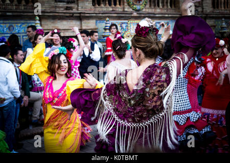 Feria de Abril - Stockfoto