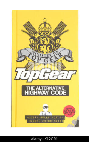 Das Buch Ministerium für TopGear Die Alternative Highway Code - Stockfoto