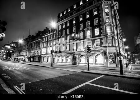 Fortnum & Mason Gebäude am Piccadilly London - London/England - Dezember 6, 2017 - Stockfoto