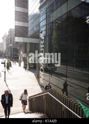 Nomura Büros London japanischen Finanzholding. - Stockfoto