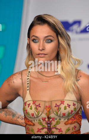 Los Angeles, USA. 27 Aug, 2017. LOS ANGELES, Ca. 27. August 2017: Paris Jackson auf der 2017 MTV Video Music Awards - Stockfoto