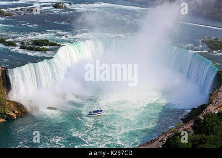 Niagara Falls, Luftaufnahme, Kanada - Stockfoto