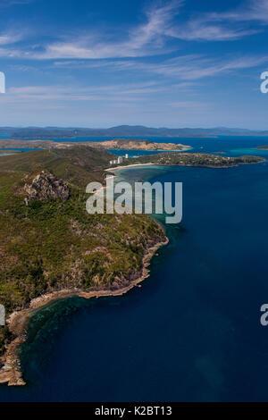 Luftaufnahme von Hamilton Island, Cairns, Queensland, Australien. November 2012. - Stockfoto