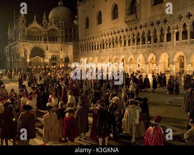 Eine Szene von Casanova, unter der Regie von Lasse Hallströ m. Von Buena Vista International verteilt. Nicht - Stockfoto