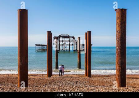 England, East Sussex, Brighton Pier West