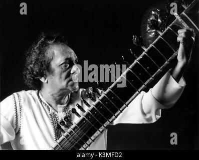 RAVI SHANKAR [1920 - 2012] Indische Musiker, Komponist, Sitar player Datum: 2012 - Stockfoto