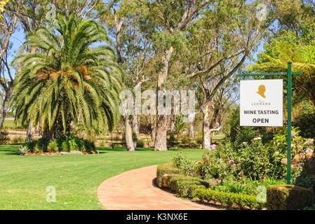 Peter Lehmann Wines im Barossa Valley - Tanunda, SA, Australien - Stockfoto
