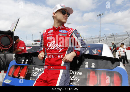 Darlington, South Carolina, USA. 2. Sep 2017. September 02, 2017 - Darlington, South Carolina, USA: Ryan Reed (16) - Stockfoto