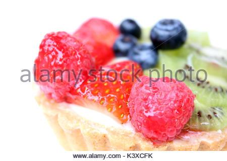 Frisches Obst Torte - Stockfoto