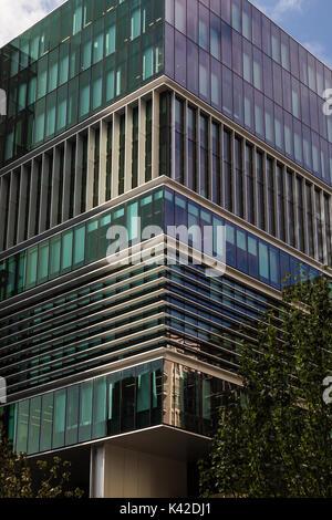 Dieses Gebäude 180 Thomas Street, Haymarket, Sydney wurde von den Architekten Bates Smart entwickelt. Sein ziemlich - Stockfoto