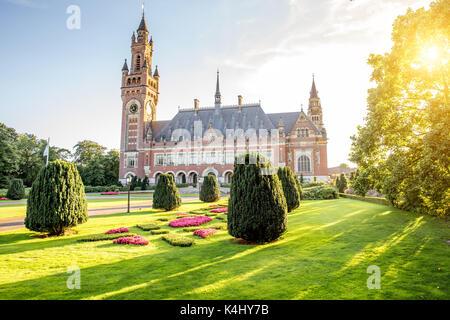 Friedenspalast in Den Haag - Stockfoto