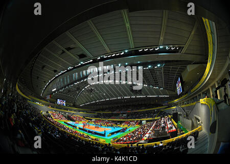 Tokio, Japan. Credit: MATSUO. 6. Sep 2017. ÌåãûëÃàÁäŸ/âÔèÍ/Allgemeine Ansicht Volleyball: FIVB World Grand Champions - Stockfoto