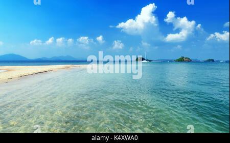 Khao laem Ya Nationalpark, Rayong, Golf von Thailand Küste - Stockfoto