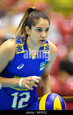 Tokio, Japan. Credit: MATSUO. 6. Sep 2017. Natalia Pereira (BRA) Volleyball: FIVB World Grand Champions Cup 2017 - Stockfoto