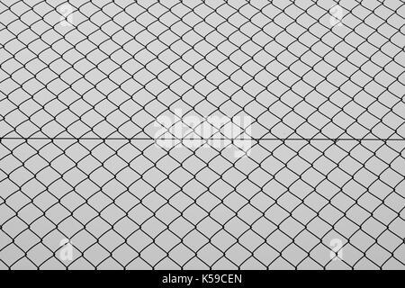Schwarzer Hintergrund mit Zaun Gitter. Zusammenfassung Hintergrund ...