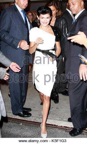 Audrey Tatou. Prominente fotografiert bei der Premiere von \
