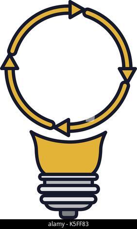 Lampe mit Symbol \