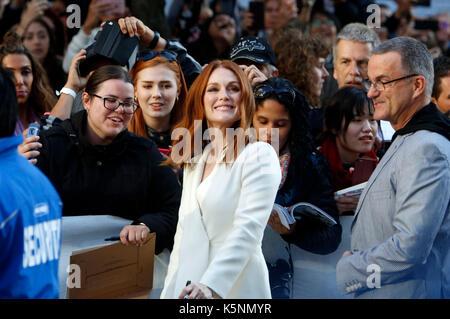 Toronto, Kanada. 09 Sep, 2017. Julianne Moore an Der uburbicon 'Premiere während der 42 Toronto International Film - Stockfoto
