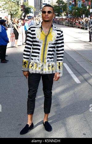 """Andre de Grasse die Teilnahme an der """"Carter"""" Premiere während der 42 Toronto International Film Festival im Princess - Stockfoto"""