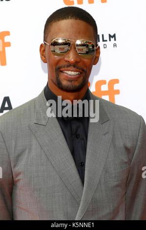 """Chris bosh die Teilnahme an der """"Carter"""" Premiere während der 42 Toronto International Film Festival im Princess - Stockfoto"""