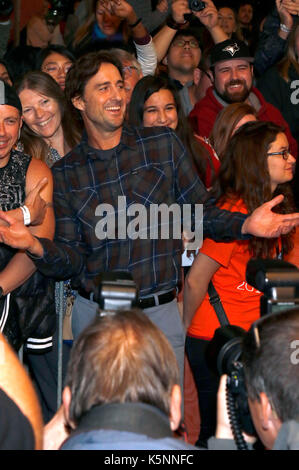 """Toronto, Kanada. 9. September 2017. Luke Wilson die Teilnahme an der """"Brad Status 'Premiere während der 42 Toronto - Stockfoto"""