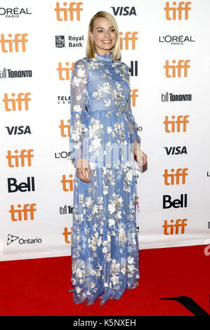 Margot Robbie an der 'ICH, Tonya 'Premiere während der 42 Toronto International Film Festival im Princess Of Wales - Stockfoto