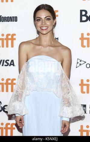 Caitlin Carver die Teilnahme an der 'ICH, Tonya 'Premiere während der 42 Toronto International Film Festival im - Stockfoto