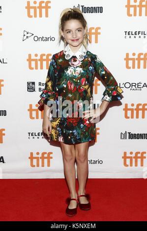 Mckenna Gnade an der 'ICH, Tonya 'Premiere während der 42 Toronto International Film Festival im Princess Of Wales - Stockfoto