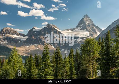 Mount Assiniboine, Mount Assiniboine Provincial Park, der Kanadischen Rocky Mountains in British Columbia, Kanada - Stockfoto